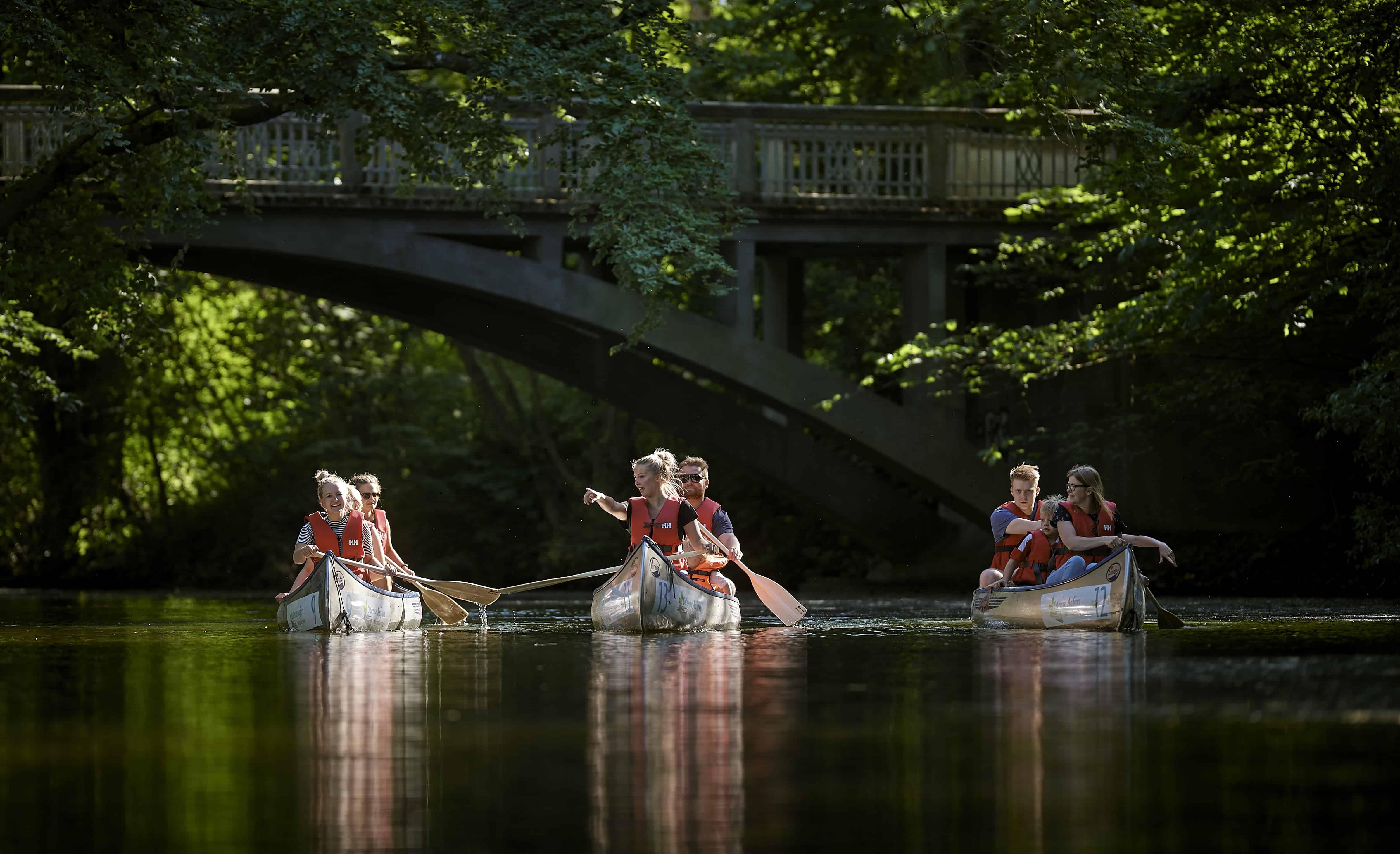 canoe company event