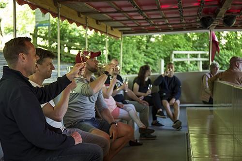 Wine tasting company event